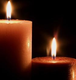 Įvairių formų žvakės